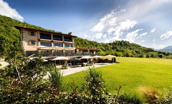 Florian Maison, ristorante di collina e hotel a San Paolo d'Argon, pochi chilometri da Bergamo, telefono +39.0354254202 (foto di Stefano Borghesi)