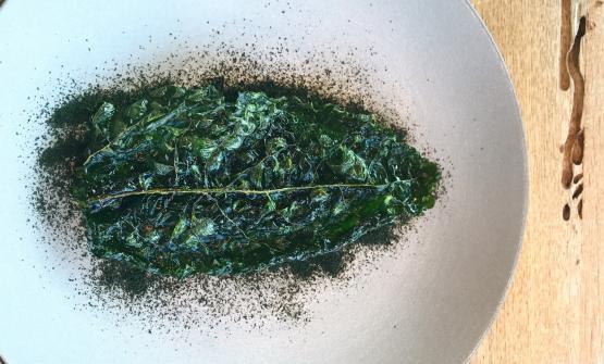 FOGLIA – Risotto con cavolo nero, limone e capperi è la ricetta 2017 di Viviana Varese, chef dell'Alice di Milano