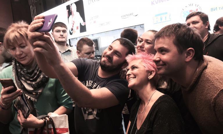 A Kiev tutti pazzi per Cristina Bowerman