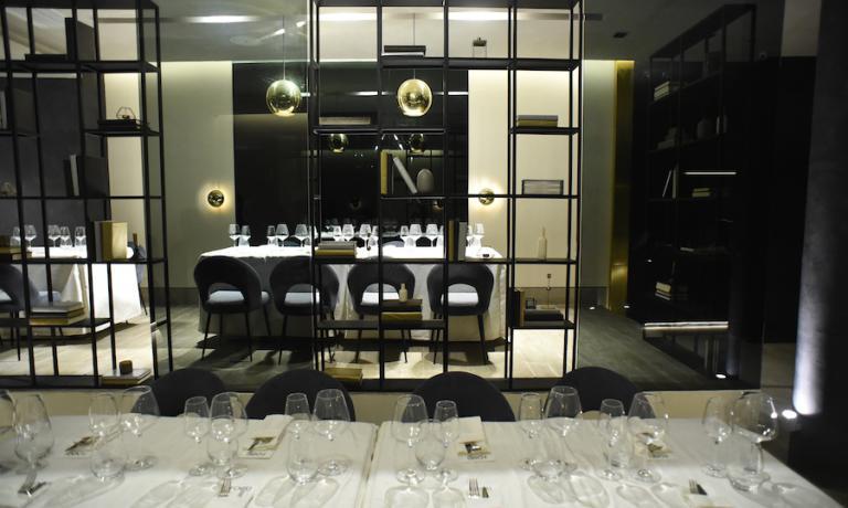 Questa invece la sala del Foo'd di Manila