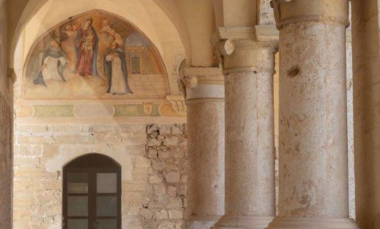 Il Chiosto dei Domenicani a Lecce, che ospiterà la terza edizione di FoodExp