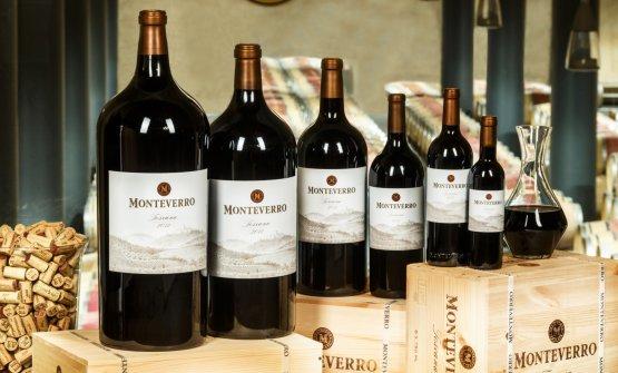 Il Monteverro è il vino di punta dell'omonima azienda