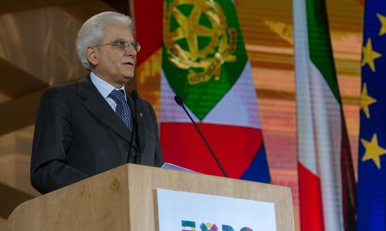 L'intervento a Firenze del presidente della Repubblica, Sergio Mattarella