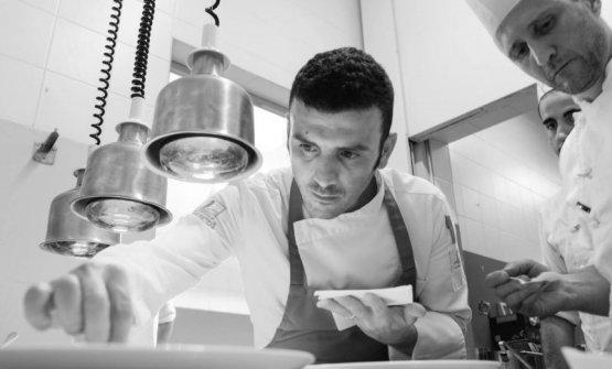 Carmelo Trentacosti, chef del Cuvée du Jour presso lo storicoVilla Igieadi Palermo