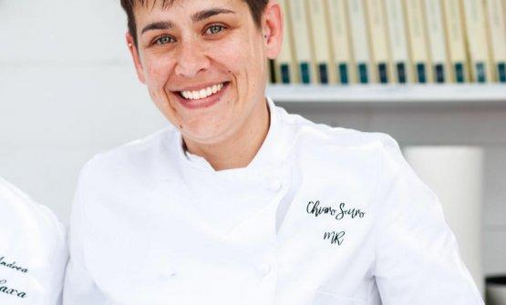 Marina Ravarotto, chef del ristorante ChiaroScuro