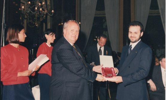 Nicola Portinari e la prima stella Michelin, anno 1995