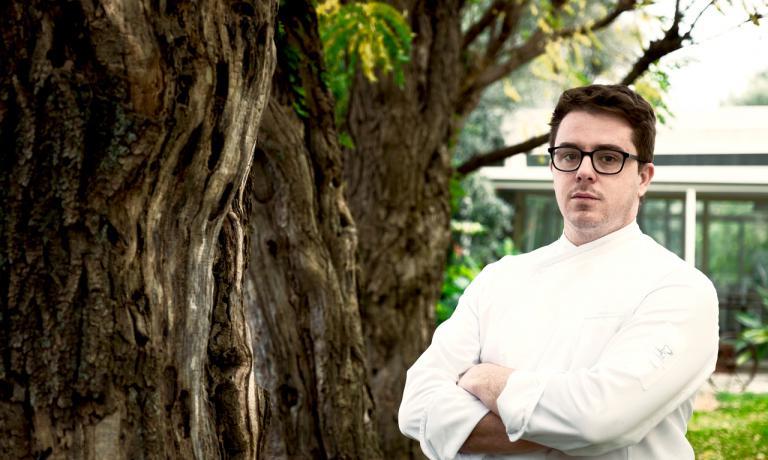 Il giovane chef Nino Rossi, già con Niederkofler
