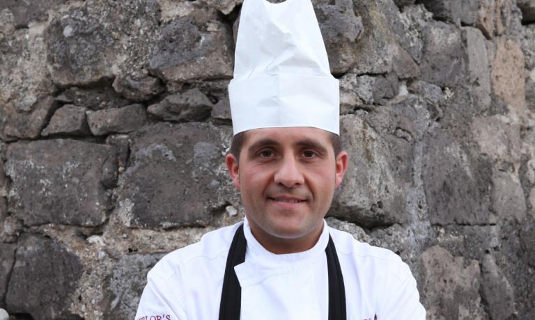 Giuseppe Di Martino, sous chef della Torre del Saracino, da 6 anni al fianco di Gennaro Esposito