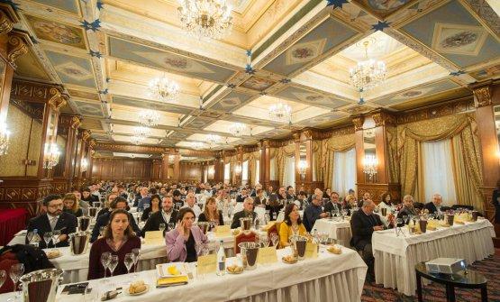 Le masterclass all'Académie du Champagne, con 180 professionisti del settore