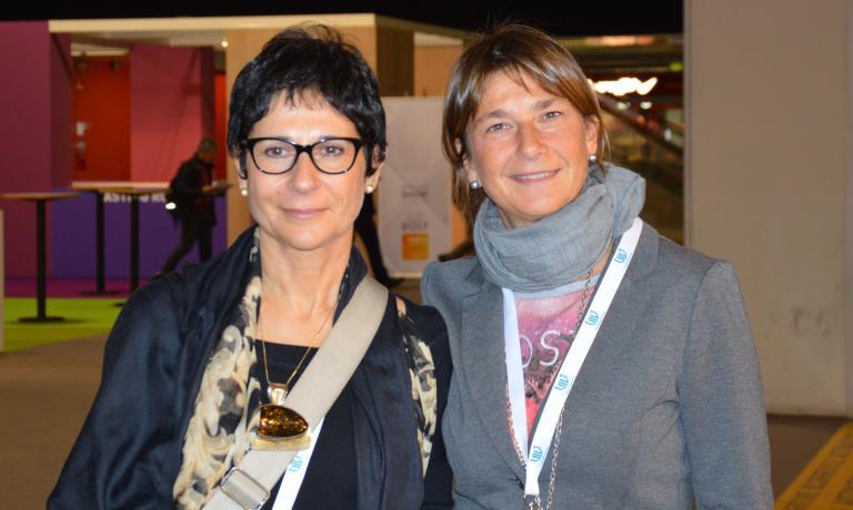 Due delle fondatrici:Clementina Palese e la presidente Valeria Fasoli