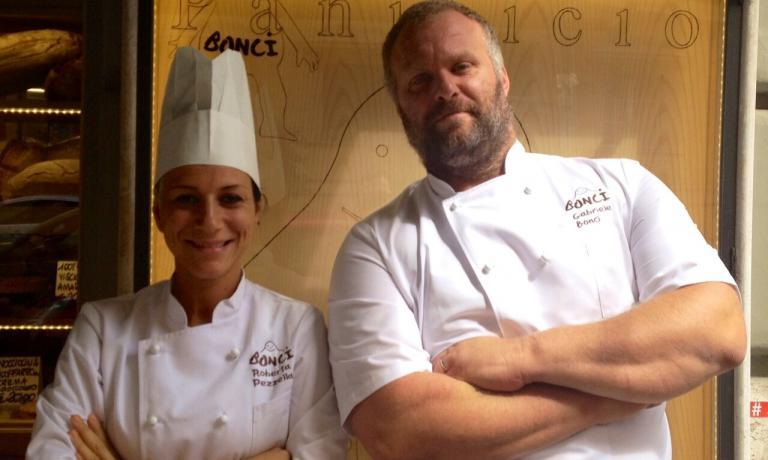 Roberta Pezzella e Gabriele Bonci