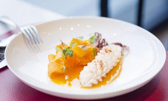 Calamaro, carota e pastinaca (fotoAdriano Truscello)