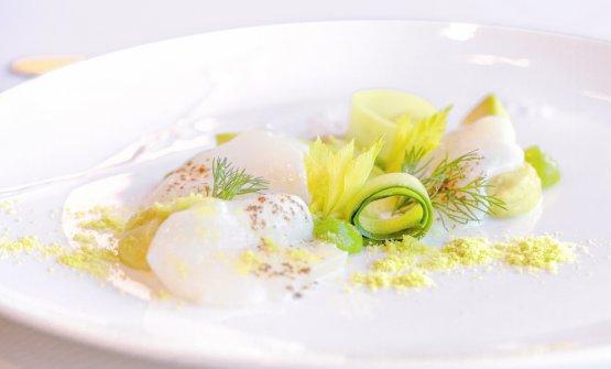 Capasanta, cetriolo e avocado (fotoAdriano Truscello)
