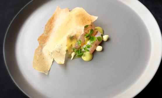 Scampoli è la ricetta 2017 di Nicola Dinato, chef