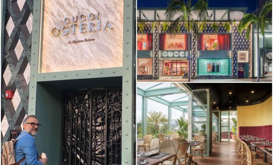 Osteria Guccion Rodeo Drive, Beverly Hills, Los Angeles. The format will now open in Tokyo too