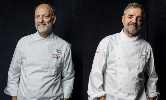 Moreno Cedroni e Mauro Uliassi