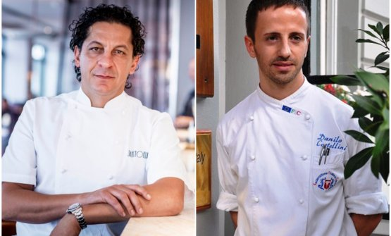 Francesco Mazzei e Danilo Cortellini: due chef it