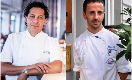 Francesco Mazzeie Danilo Cortellini: due chef it