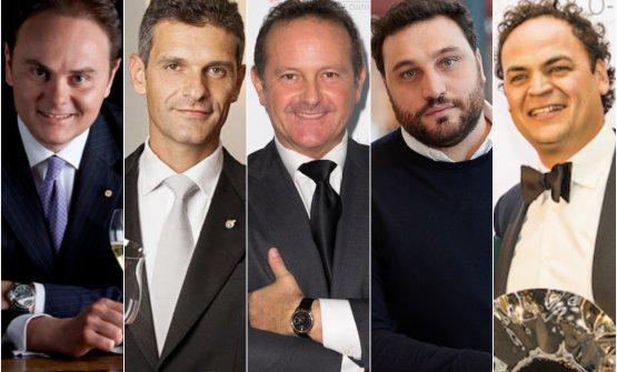 Matteo Lunelli, Marco Amato, Francesco Cerea, Nico