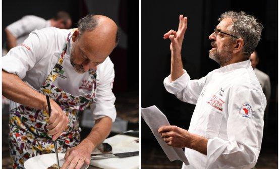 Moreno Cedroni e Mauro Uliassi a Meet in Cucina Marche 2018