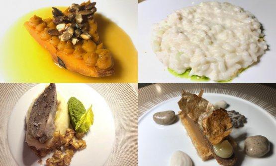 I quattro piatti preparati da Franco Aliberti, Ste