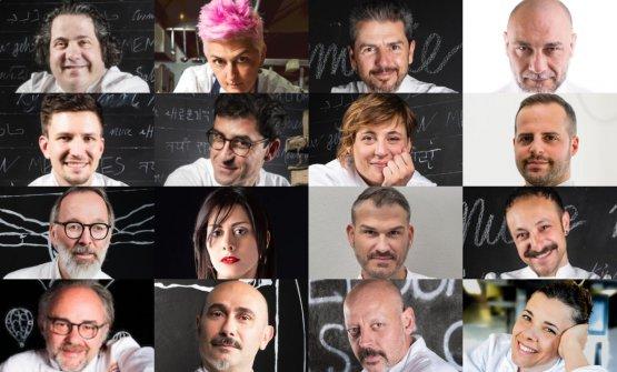 Alcuni dei protagonisti delle nuove masterclass ag