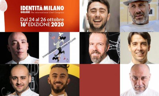 I relatori di Identità di Pane e di Pizza, 16 mes