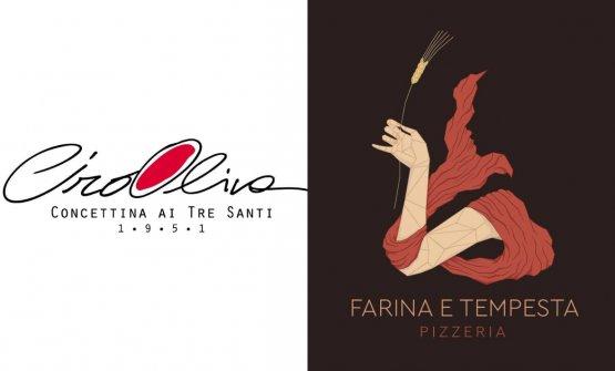 I simboli di Concettina ai Tre Santi e Farina e Tempesta, ovvero le pizzerie di Ciro Oliva e Cesare Foschi