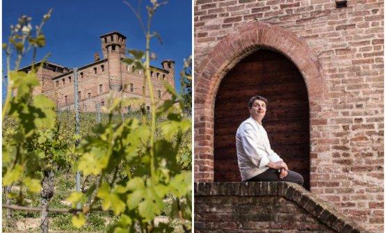 Il Castello di Grinzane Cavoure lo chef Marc Lanteri