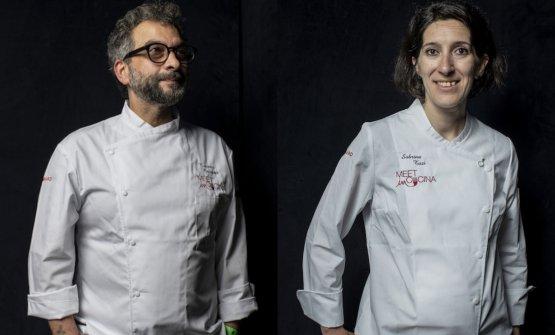 Tiziano Rossetti e Sabrina Tuzi