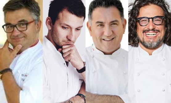 I quattro relatori di Dossier Dessert, pomeriggio