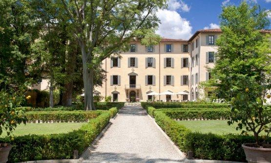 """""""La Villa"""", edificio storico parte integrante del Four Seasons Firenze, che ospiterà il ristorante Magnolia"""