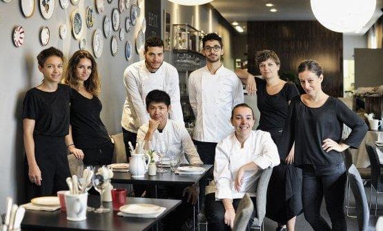 Lo staff della Franceschetta 58 di Modena