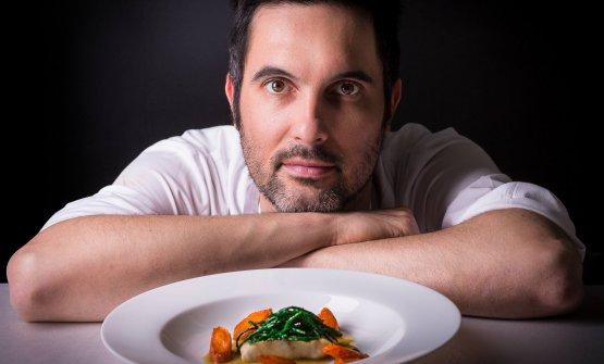 Francesco Baldissarutti, chef del Ristorante Perbellini
