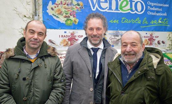 Francesco Arrigoni, Adriano Daminato e Sergio Tron