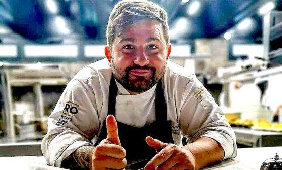 Lo chef Francesco Franzese. Già stellato alla Cas