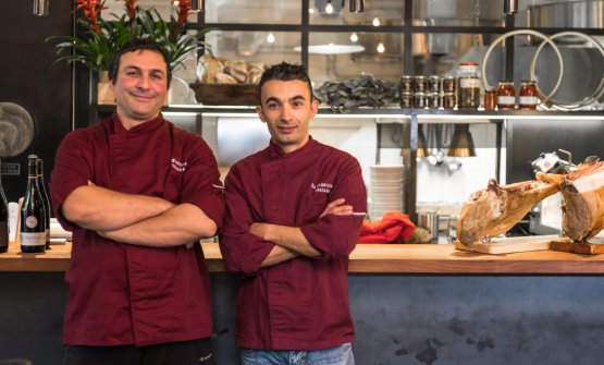 Francesco Praticò e Stefano Lobina