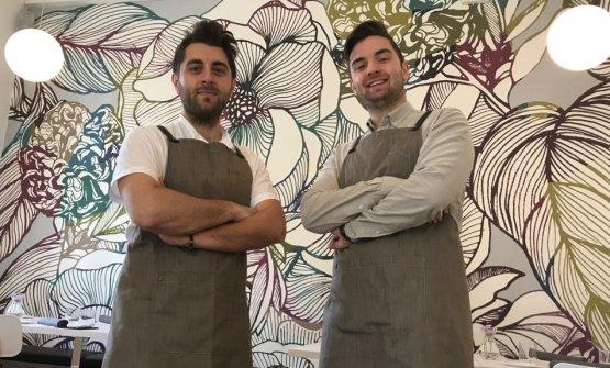 RiccardoeGabriele Escalante: rispettivamente cuoco e responsabile di sala