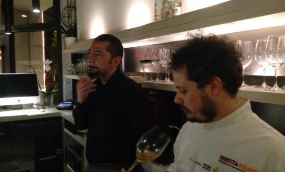 Regis Ramon Freitas con lo chef