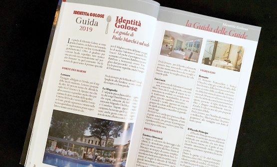 Le recensioni versiliesi della Guida Identità Golose 2019 sulle pagine della Guida Ristoranti Versilia Gourmet