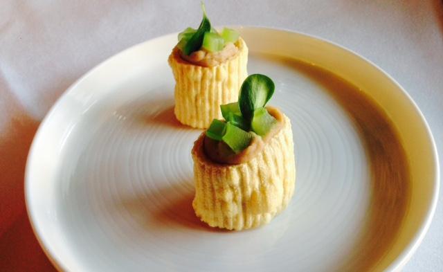 Pasta di fagioli croccante