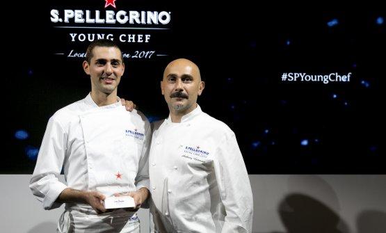 Edoardo Fumagalli con Anthony Genovese