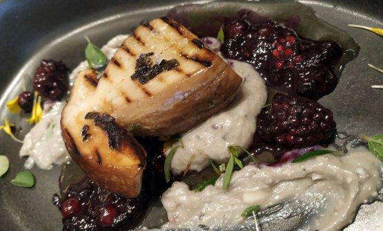 Porcino, erborinato di Bagnoli e frutti rossi: la ricetta della rinascita di Diego Papa