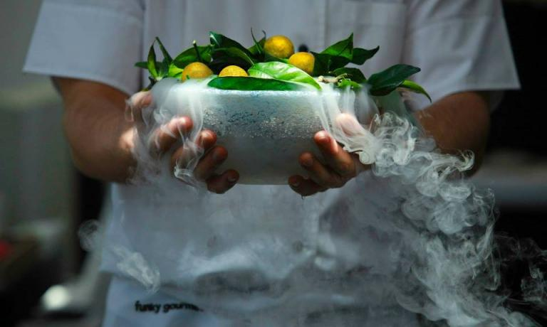 In less than five years, Funky Gourmet in Keramiko