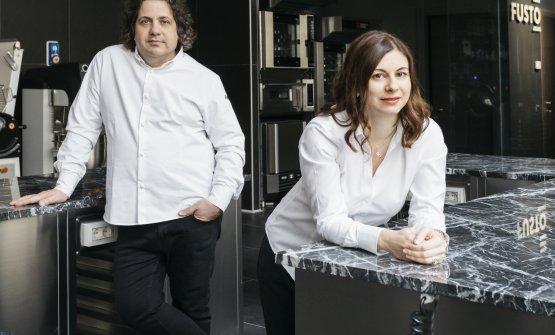 Gianluca Fusto e Linda Massigan