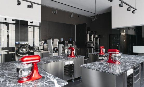 Una parte della tecnologia di Fusto Milano