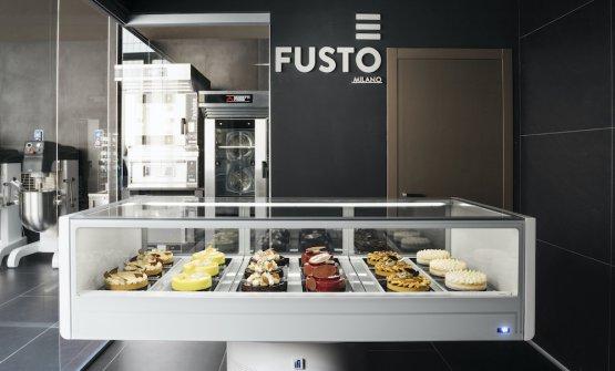 Fusto Milano, il pasticciere nomade ha finalmente la sua casa (super hi-tech)