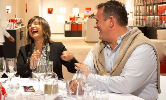 Debora Serracchiani ed Emanuele Scarello