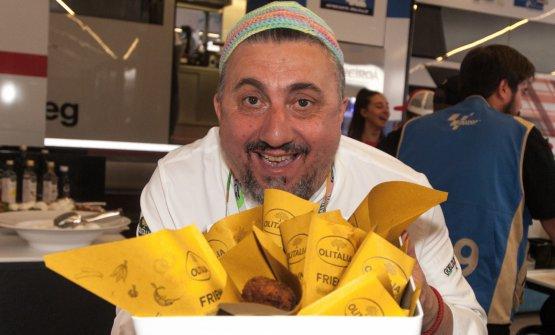 Pasquale Torrente, chef e patron di Al Convento, a Cetara (Salerno)