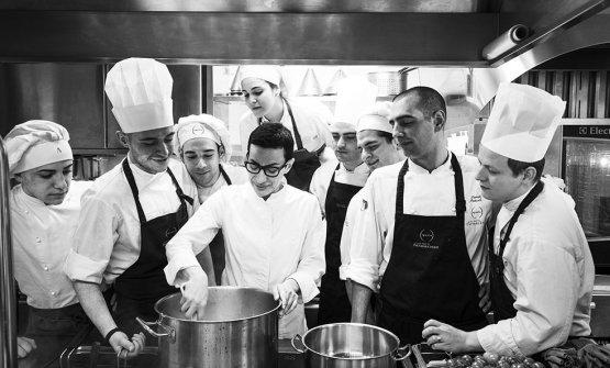 La chef e il suo staff(phMatteo Carassale)